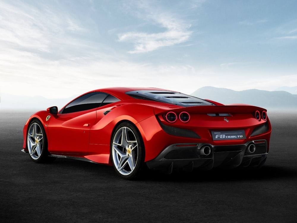 Ferrari F8 tributo en bitcoin