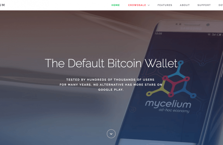 Portefeuille Bitcoin Mobile Mycelium