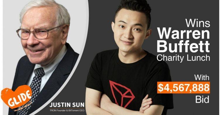 Justin Sun de Tron va replanifier pour bientôt le déjeuner avec Warren Buffett