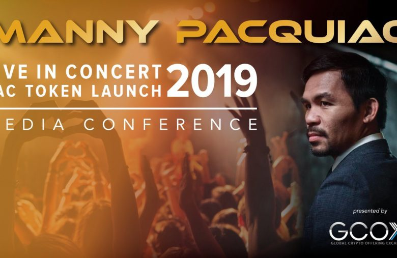 Le champion de boxe Philippin Manny Pacquiao lance sa propre cryptomonnaie