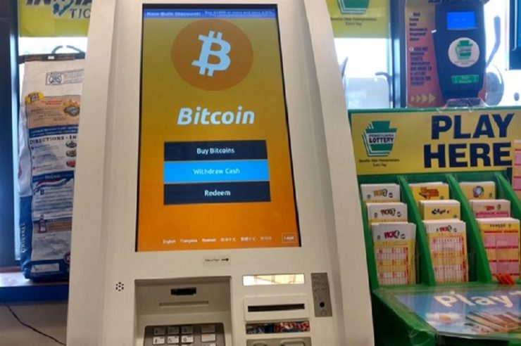 Le nombre de distributeurs automatiques de Bitcoin a augmenté