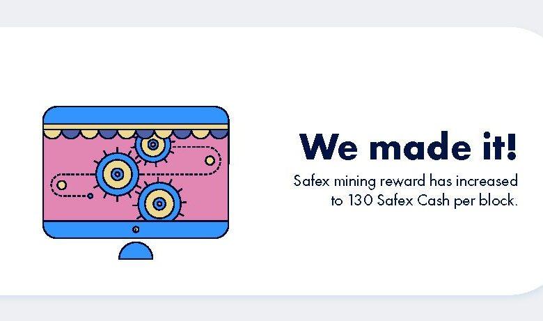 Safex Cash double la rémunération de ses mineurs