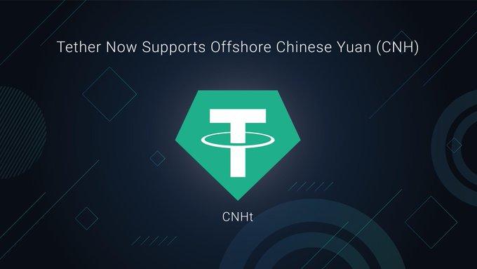 Tether lance CNHT un nouveau stablecoin indexé sur le yuan chinois