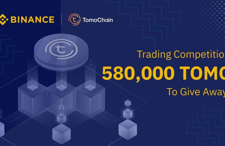580 000 TOMO à gagner avec Binance et TomoChain pour le lancement du Testnet Tomo X