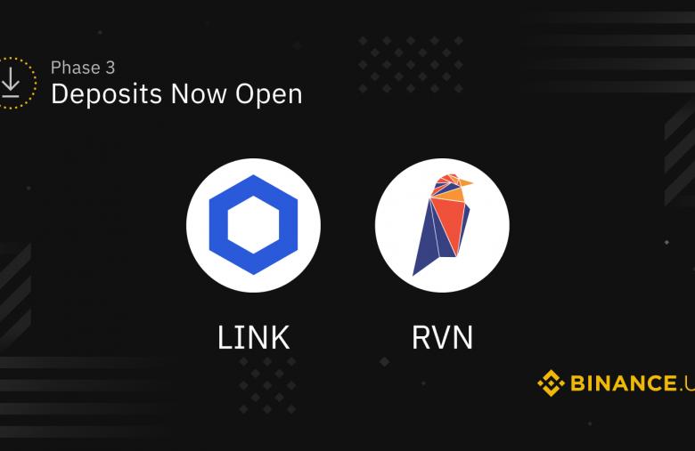Binance US va lister LINK et RAVEN (RVN) le 10 octobre 2019