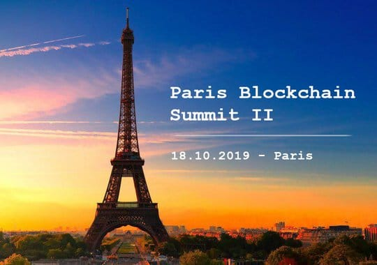 Paris Blockchain Summit 18 octobre 2019