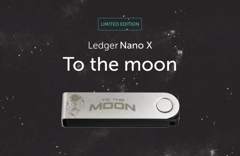Pour fêter les 5 ans de Ledger, une édition limitée To the Moon du Ledger Nano X