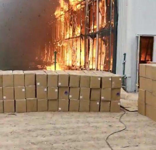 Une importante ferme de minage Bitcoin Chinoise partie en fumée avec 10 millions de $ de matériel