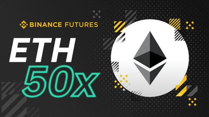 Binance Futures lancent ses contrats à terme Ethereum avec effet de levier jusqu