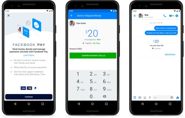 Facebook lance la solution de paiement Facebook Pay pour Messenger, Instagram, Whatsapp