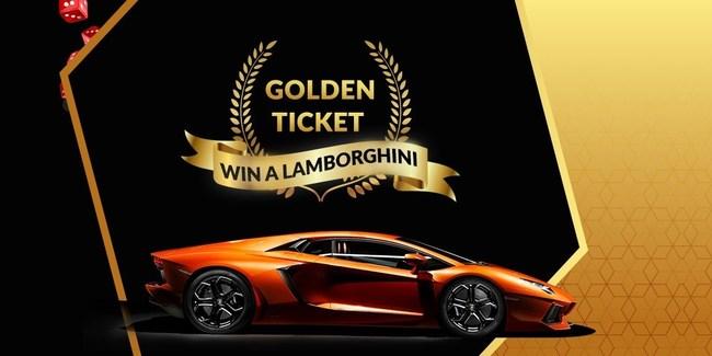 lamborghini à gagner sur casino bitcoin
