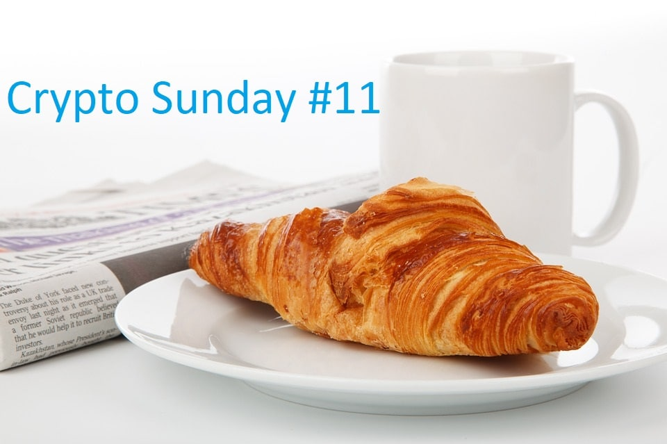 Crypto Sunday #11 - Le zapping crypto de la semaine avec Ripple, Bitcoin, Ethereum Futures, Upbit piraté, Keplerk et TF1, Skrill et Bakkt
