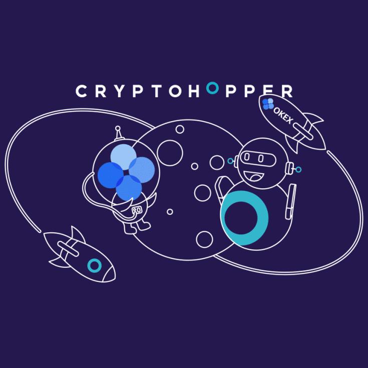 Le crypto bot Cryptohopper annonce un partenariat avec la plateforme de trading OKEx