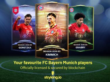 Les objets de collection numériques du FC Bayern Munich aux enchères avec garantie de remboursement