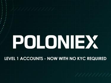 Pas de KYC ou de vérification d'identité sur l'échange crypto Poloniex jusqu'à 10 000$ de retrait par jour