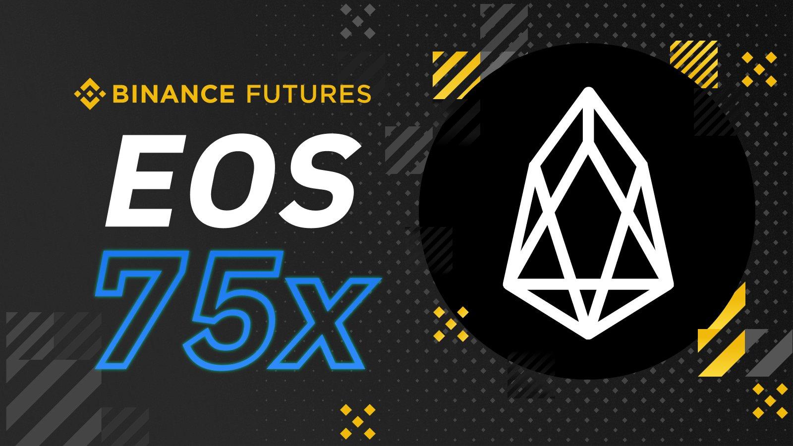 Binance Futures lance ses contrats perpétuels EOS avec effet de levier jusqu
