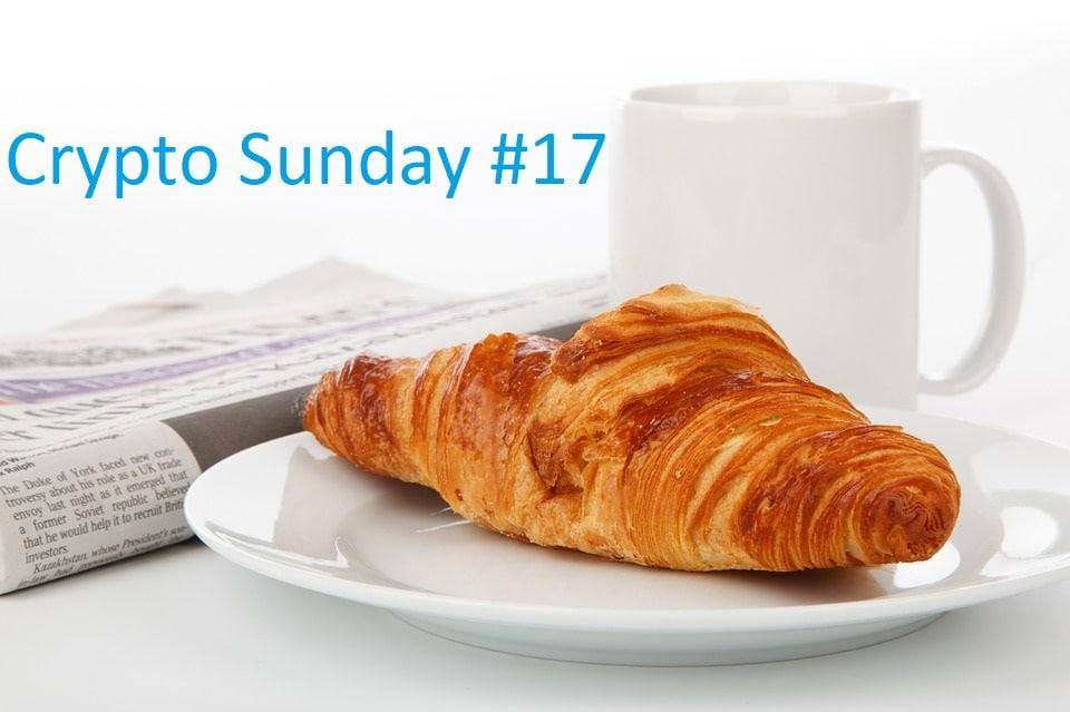 Crypto Sunday #17 – Le zapping crypto avec Bitcoin mieux que l