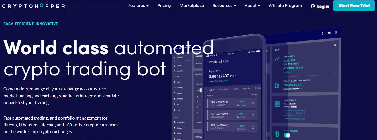 Cryptohopper bitcoin robots