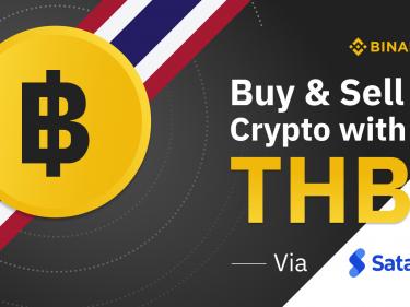 Il est désormais possible d'acheter du Bitcoin avec du Baht Thaïlandais sur Binance