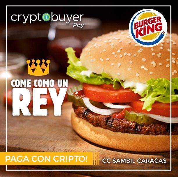 La cryptomonnaie Dash dans les Burger King au Venezuela