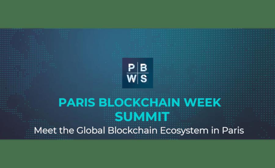 Le Paris Blockchain Week Summit (PBWS), 31 mars au 1er avril 2020, annonce liste des intervenants