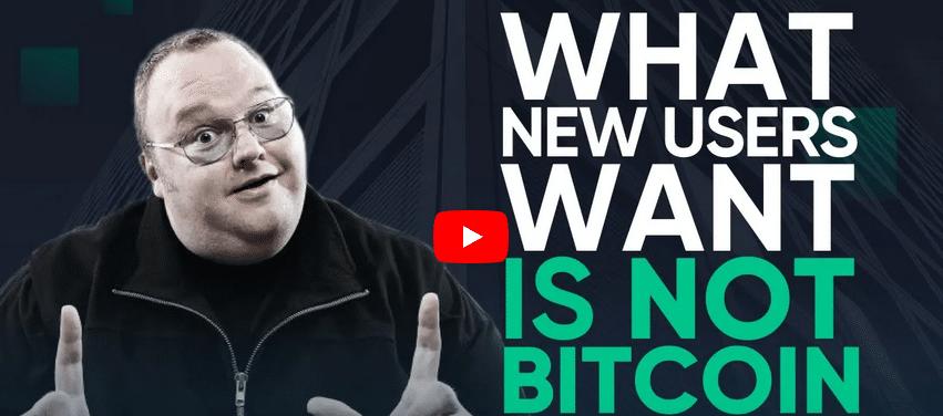 kim Dotcom pense avoir la killer app pour faire adopter Bitcoin et les crypto en masse par le grand public