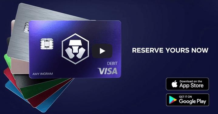 Carte bancaire Bitcoin Crypto.com
