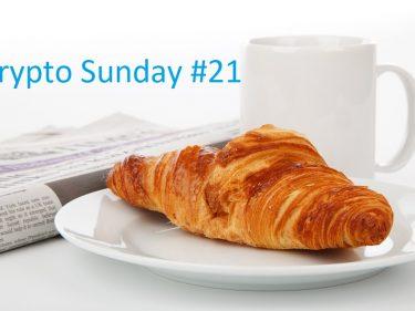 Crypto Sunday #21 – Le zapping de l'actu Bitcoin et crypto de la semaine