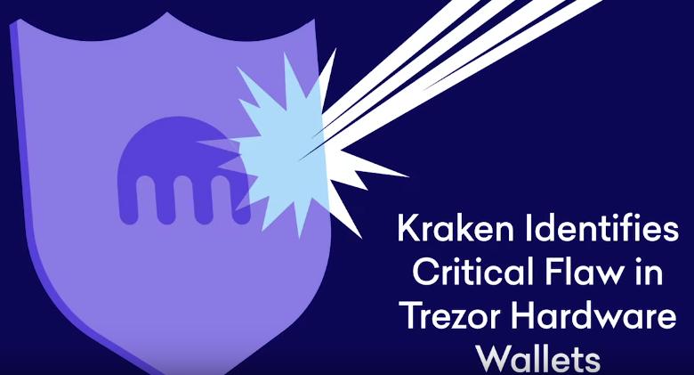 L'échange Bitcoin Kraken parvient à pirater le portefeuille crypto Trezor en 15 minutes