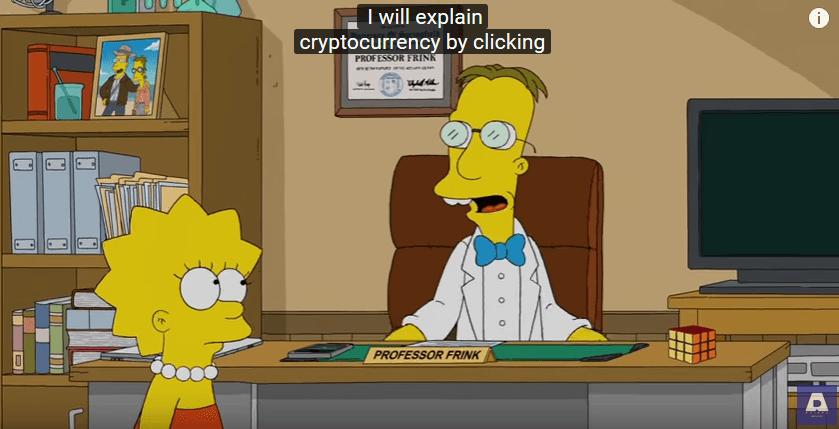 Les Simpsons parlent de Bitcoin et voient les cryptomonnaies comme l
