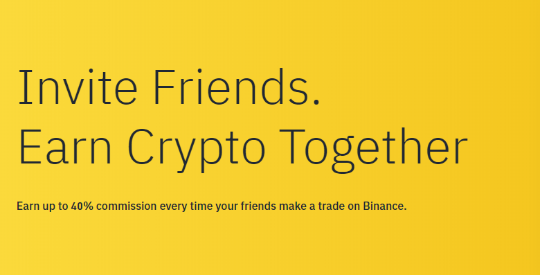 Programme affiliation binance