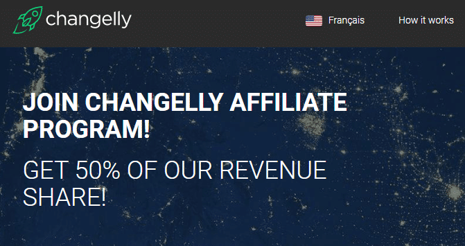 Programme affiliation changelly