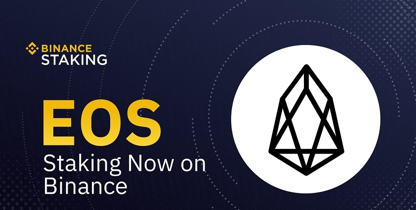 Binance ajoute le staking de la cryptomonnaie EOS