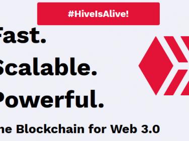 Hardfork Steem, la nouvelle blockchain Hive est en ligne