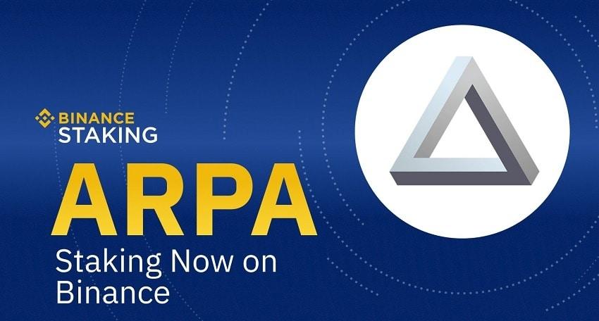 Le staking de ARPA Chain (ARPA) arrive sur Binance le 6 mars 2020