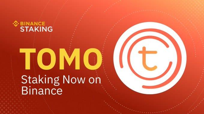 La cryptomonnaie Tomochain arrive sur Binance Staking le 18 avril 2020