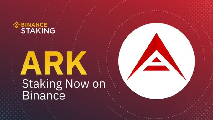 Le staking de la cryptomonnaie ARK arrive le 15 avril 2020 sur Binance