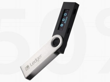 50% de réduction sur ledger nano s