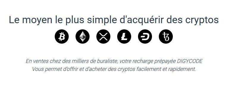 Acheter facilement la cryptomonnaie Tezos (XTZ) en France dans 10 000 points de vente grâce à Digycode