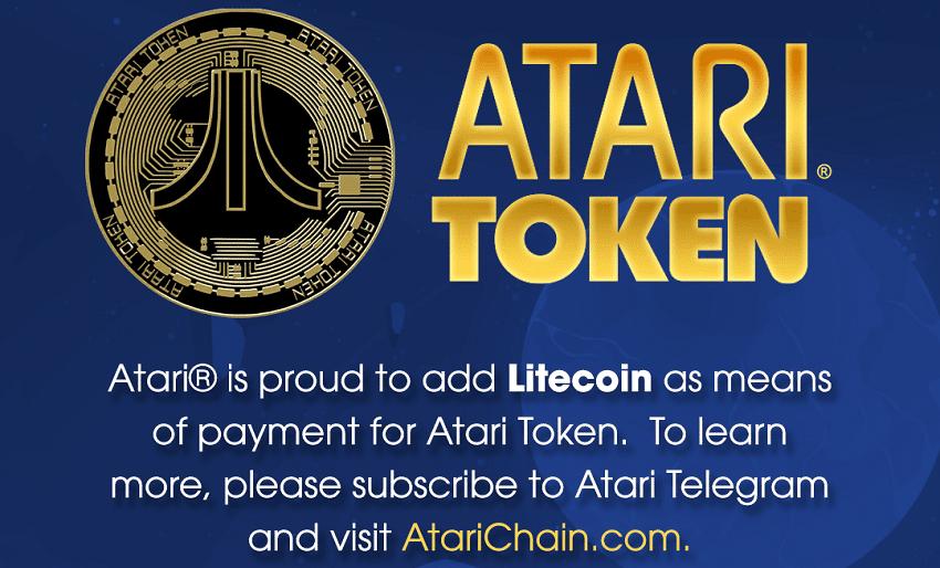 Atari va intégrer la cryptomonnaie Litecoin comme moyen de paiement pour ses jeux ou son futur casino Bitcoin