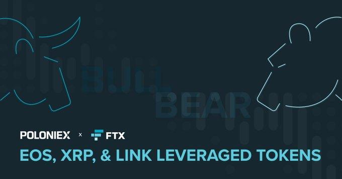 L'échange crypto Poloniex ajoute de nouveaux jetons à effet de levier FTX