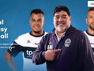 La légende du football Diego Maradona arrive sur Sorare, le jeu blockchain français