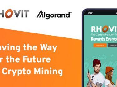 La plateforme de jeux Rhovit choisit la blockchain Algorand pour son token Rbit