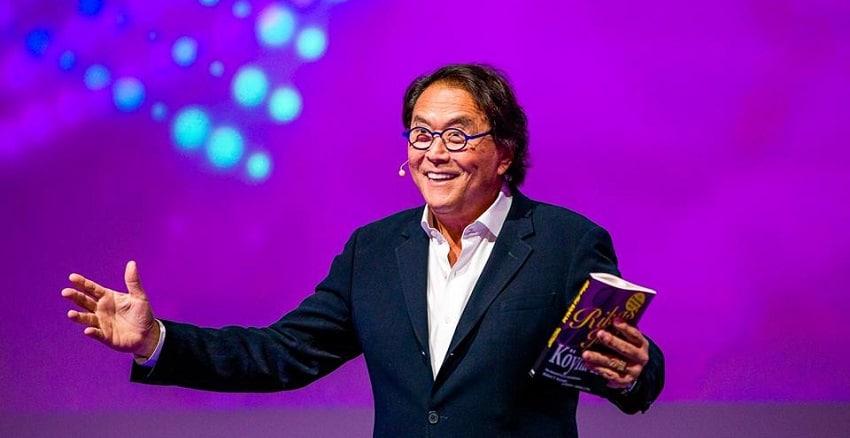 Robert Kiyosaki, auteur du best seller Père riche, père pauvre, conseille d