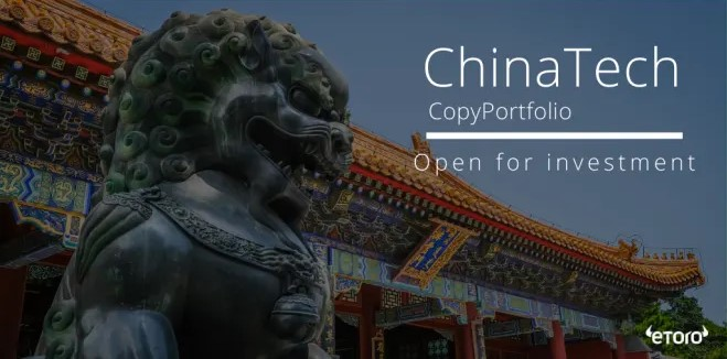 eToro lance ChinaTech, un portefeuille d