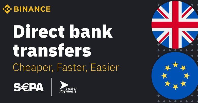 Binance.com ajoute le virement bancaire Euro SEPA avec le prestataire Clear Junction