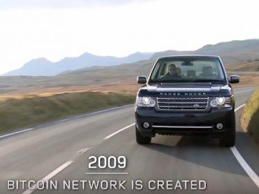 Bitcoin apparaît dans une vidéo diffusée par Land Rover pour fêter les 50 ans du Range Rover