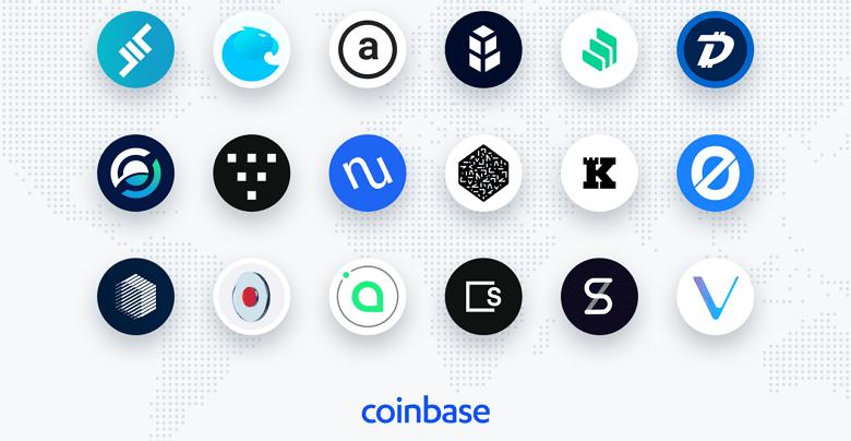 Coinbase envisage le listing de 18 nouvelles cryptomonnaies dont Vechain et Digibyte