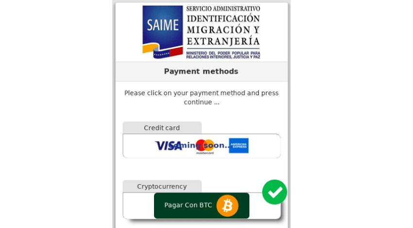 Le Venezuela accepte le paiement en Bitcoin pour obtenir un passeport