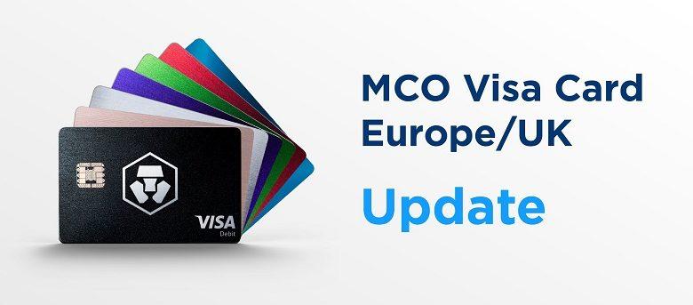 Les cartes bancaires Bitcoin MCO fonctionnent de nouveau